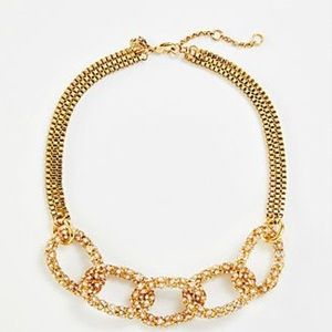 NWT-Ann Taylor Pave Necklace